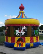 16-Foot Carousel Bounce House rental in St Augustine, FL