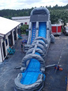 Skyscraper Slip-n-Slide party rental in St Augustine, Florida