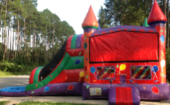 Balloon Castle Wet Slip-n-Slide in St Augustine, FL