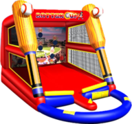 Baseball inflatable party game rental in St Augustine