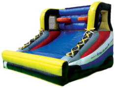 Basketball inflatable party game rental in St Augustine