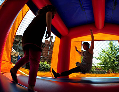 Bounce house party fun in St. Augustine, FL