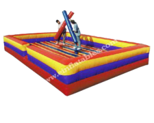 Joust inflatable party game rental in St Augustine