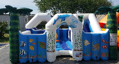 Ocean toddler bounce house in St Augustine, FL