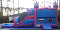 Purple Pink Castle Water Slip-n-Slide in St Augustine, FL