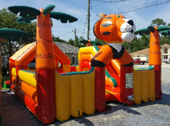 Tiger toddler bounce house in St Augustine, FL
